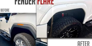 Paint-to-Match Fender Flares